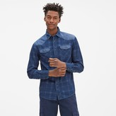 Celio Gamix3 Checked Denim Shirt