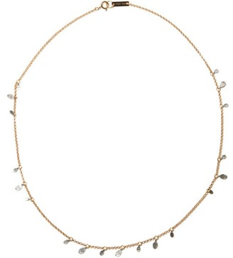 Isabel Marant Leaves Pendant Necklace - Silver Gold