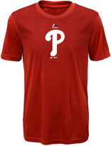 Majestic Kids' Philadelphia Phillies Geo Strike T-Shirt
