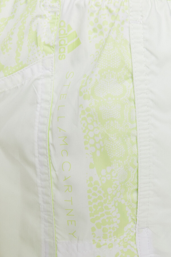 Thumbnail for your product : adidas by Stella McCartney Snake-print Shell Shorts