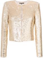 Rachel Zoe sequin jacket - women - Polyester/Spandex/Elastane/Rayon/Sequin - 0