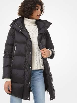 MICHAEL Michael Kors Quilted Nylon Puffer Coat
