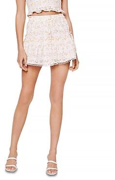 Rahi Perrie Eyelet Drawstring Shorts