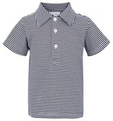 Rachel Riley Navy & White Stripe Polo