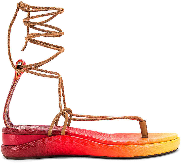 In Sandals RedFwrd Sandals Tie Yellowamp; Yellowamp; Tie In ymNnP80wvO