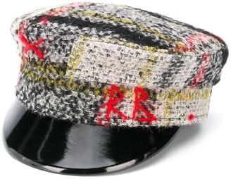 Ruslan Baginskiy Patent Peak Baker Boy Cap