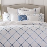 Barbara Barry Soft Stitch Duvet Cover, Full/Queen