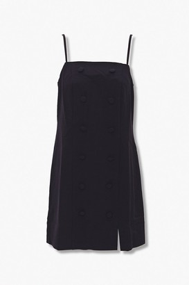 Forever 21 Double-Breasted Cami Dress