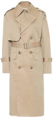 Junya Watanabe Cotton-blend gabardine trench coat
