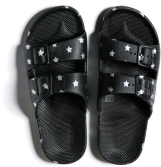 Freedom Moses Slippers Silver Stars - 24/25 - 7/8 - 8/9