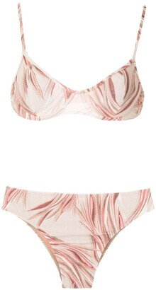 Lygia & Nanny Lilica printed bikini set