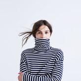 Madewell Rivet & Thread LA Crop Turtleneck: Striped Edition