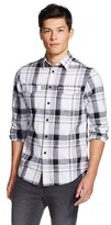 Mossimo Men's Long Sleeve Button-Down White L
