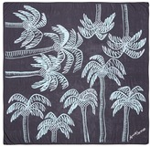Anna Coroneo 'Palm Tree in Bella' print silk scarf