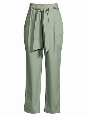 La Vie Rebecca Taylor Poplin Tie Pants
