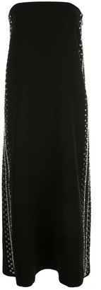 Proenza Schouler Embroidered Strapless Dress