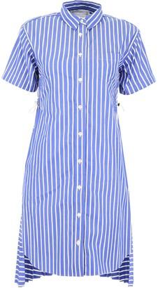 Sacai Layered Back Shirt Dress