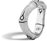 John Hardy Women's Bamboo 6MM Curved Band Ring in Brushed Sterling Silver
