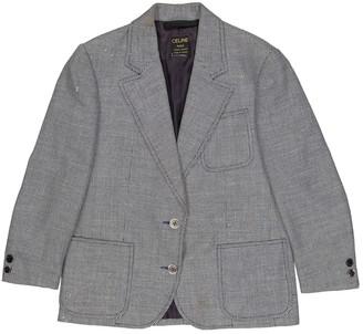 Celine Grey Wool Jackets