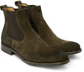 O'keeffe - Bristol Burnished-suede Chelsea Boots