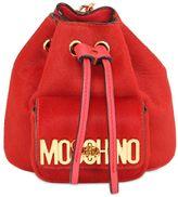 Moschino Mini Ponyskin Backpack