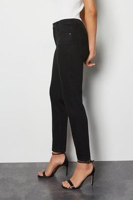 Karen Millen Organic Slim Cigarette Black Jeans