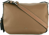 Furla tag detail shoulder bag - women - Calf Leather - One Size