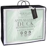 Downland 12 Cm Anti-Allergy Duck Feather And Down Mattress Topper