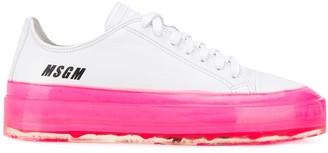 MSGM platform sole sneakers