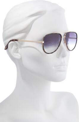 Quay x Maluma All In 52mm Mini Aviator Sunglasses