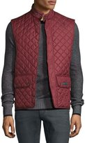 Belstaff Lightweight Quilted Tech Vest, Racing Red