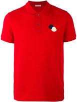 Moncler logo polo shirt - men - Cotton - S