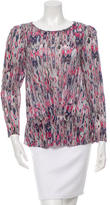 IRO Silk Printed Top