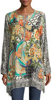 Johnny Was Challis Printed Sunlight Tunic