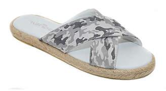 J/Slides Women's Sandals OFF - Off-White Camo Crossover Reva Leather Slide - Women