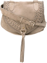See by Chloe medium Collins shoulder bag - women - Suede - One Size
