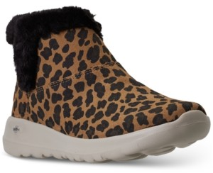 Skechers Women's On The Go Joy Snow Kitty Winter Boots from Finish Line