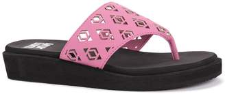 Muk Luks Paisley Cutout Sandal