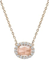 Lafonn Women's Simulated Diamond Halo Pendant Necklace