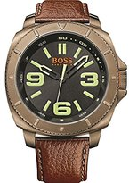 HUGO BOSS Boss Orange Men's Analogue Quartz Watch, Sao Paulo, Leather 1513164