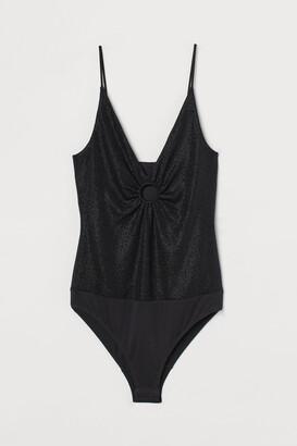 H&M Glittery Bodysuit