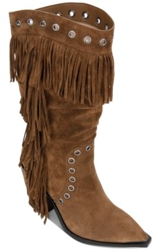 Kenneth Cole New York Women's West Side Fringe Boots Women's Shoes