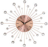 UMA Enterprises Metal Copper Wall Clock