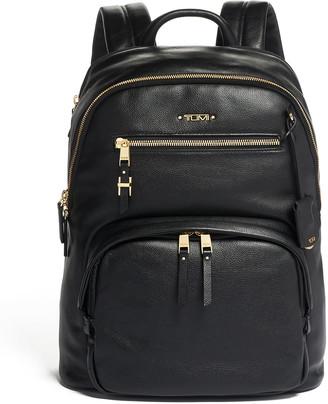 Tumi Hartford Leather Backpack