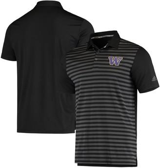 adidas Men's Black Washington Huskies Ultimate Polo Shirt