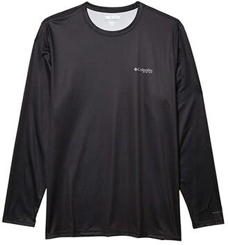 Columbia Terminal Tackle PFG Fishtm Long Sleeve Shirt (Black/Graphite) Men's T Shirt