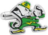 Cufflinks Inc. Men's Notre Dame Fighting Leprechaun Cufflinks