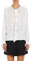 Isabel Marant Women's Amos Cutwork-Embroidered Blouse-WHITE