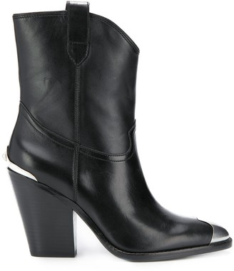 Ash Elvis block heeled boots