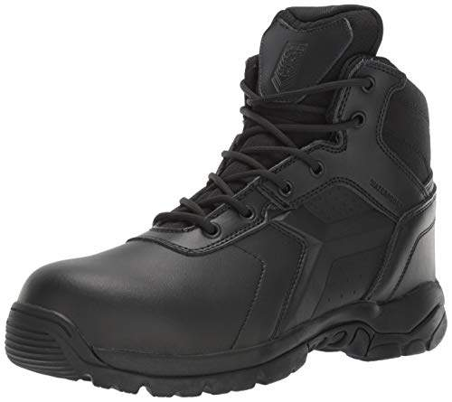 48e32699b15 Battle OPS Men's 6-inch Waterproof Side Zip Tactical Boot Comp Safety Toe  BOPS6002 Military,11.5 Medium Wide US
